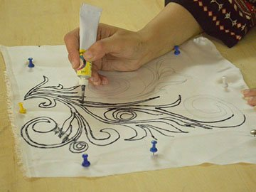 Silk Printing Workshop