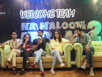 Team 'Na Maloom Afraad' at MIUC
