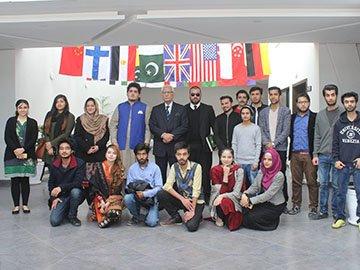 Ahmed Raza Khan Kasuri visits MIUC