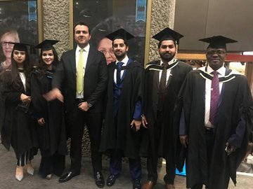 University of London Alumni graduation ceremony