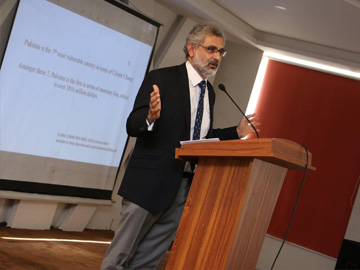 Guest Lecture by Justice Qazi Faez Isa, Honorable Justice Supreme Court of Pakistan