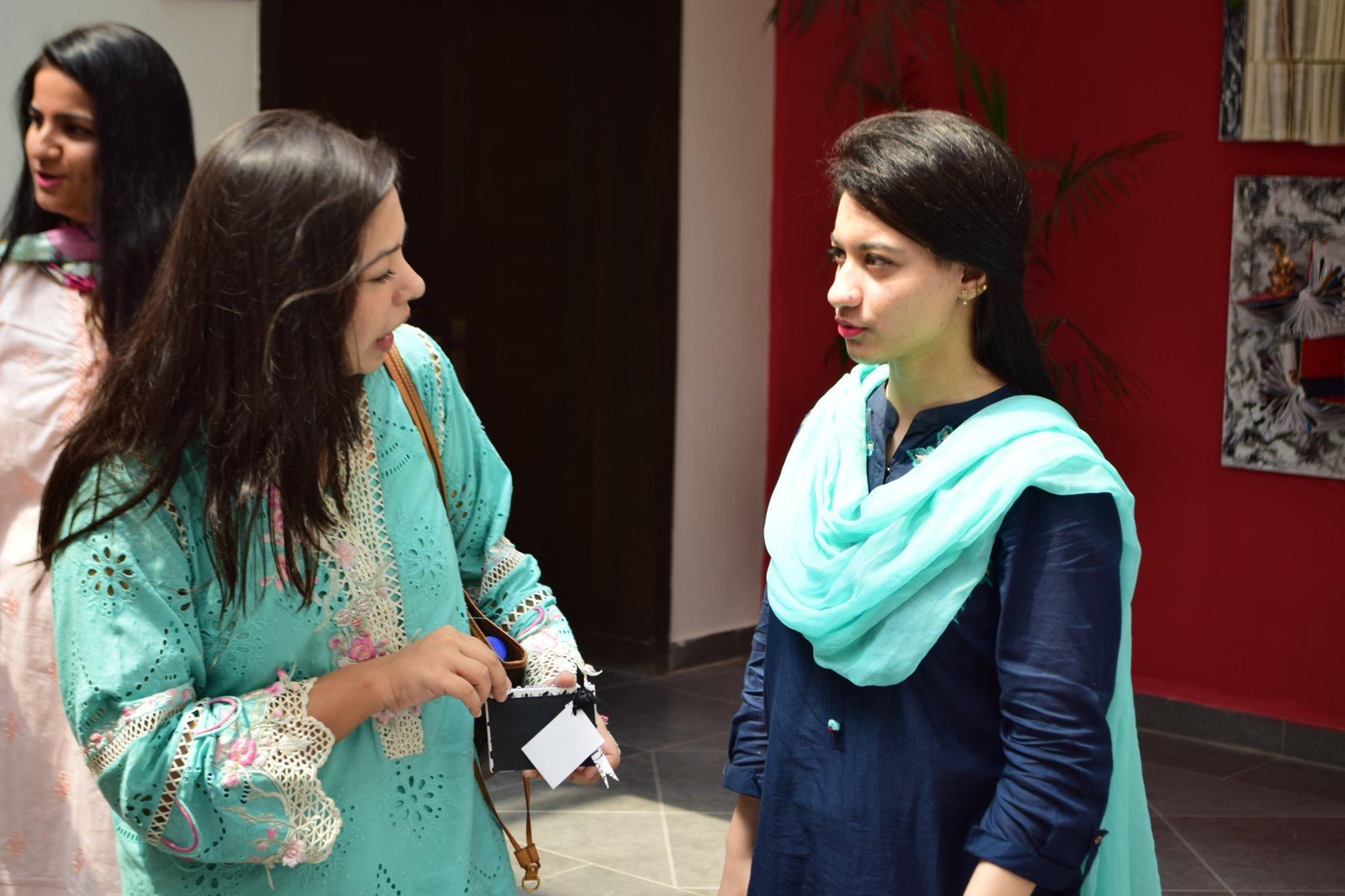 Leading designer Ms. Bisma Kiani